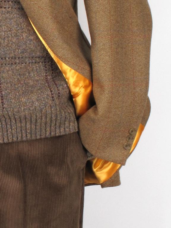 Bladen Hacking Light Brown Tweed Jacket Tweed