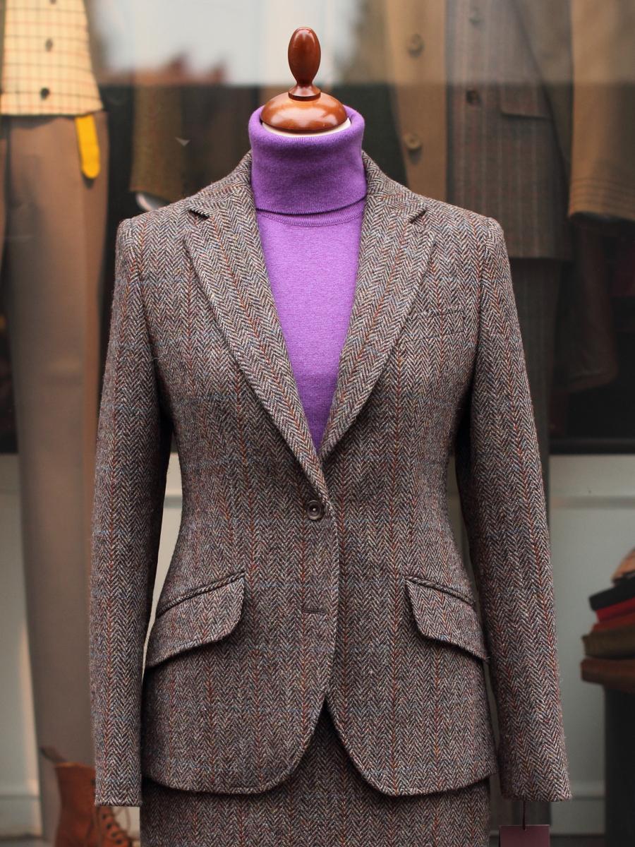Bladen Ladies Light Brown Harris Tweed Jacket | Tweed Country Sports