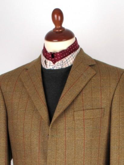 A Classic Polka Dot Cravat