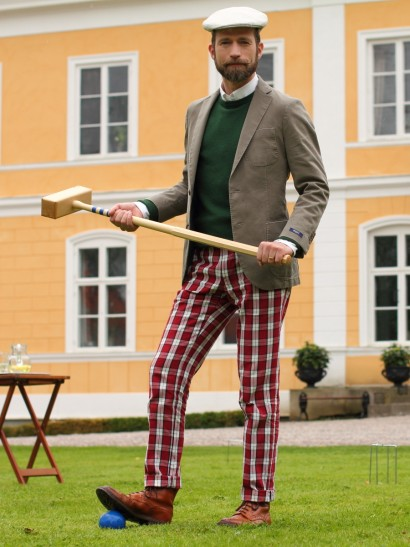 Anarcho-Dandyist Croquet Player
