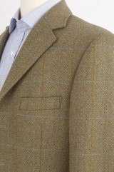 City shirt and tweed jacket