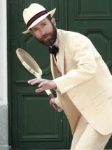 Bladen Straw Linen Suit
