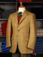 Traditional structured tweed jackets