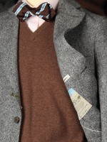 Soft unstructured tweed jackets