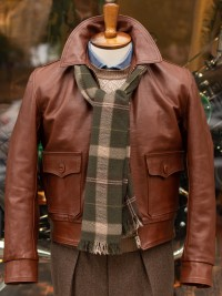 Aero Leather 1930s Sporting Horsehide Jacket