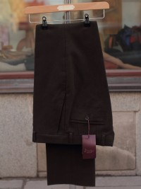 Bladen Mautby Dark Brown Moleskin Trousers