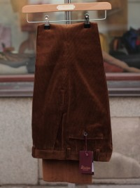 Bladen Mautby Tan Corduroy Trousers