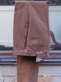 Bladen Mautby Brown Moleskin Trousers