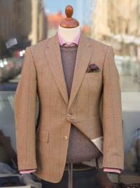 Bladen Lightweight Beige HB Tweed Jacket