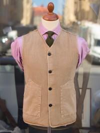 Private White V.C. Goodwood Worksuit Jerkin Vest