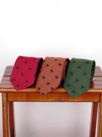 John Comfort Wool/Silk Labrador Tie