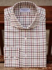 Rayner & Sturges Tattersall Large Blue Check Shirt
