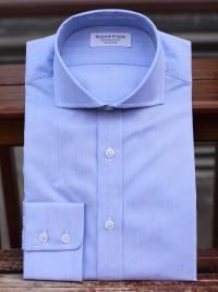 Rayner & Sturges Blue Poplin Shirt