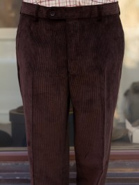 Bladen Mautby Dark Brown Corduroy Trousers