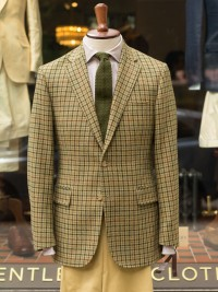 Bladen Gunton Gunclub Tweed Jacket Green