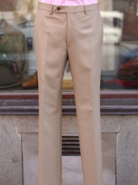 Bladen Mautby Beige Wool Trousers