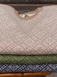 William Lockie Fair Isle Merino Crew-neck