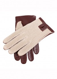 Dents Crochet Cotton Back Driving Gloves