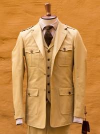 Bladen Heavy Cotton Drill Safari Jacket