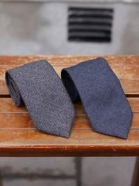 Hand-made Fox flannel Nailhead Tie