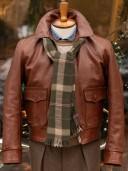 Aero Leather 1930s Sporting Horsehide Jacket