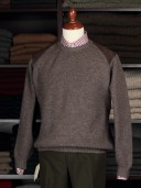 Brenire Scotia Brown Merino Jumper