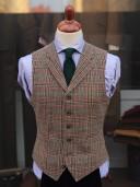 Bladen Shetland Tweed Waistcoat
