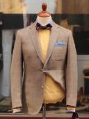 Bladen Litcham Beige HB Wool/linen/silk Jacket