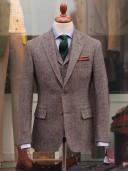Bladen Light Brown Harris Tweed Gunton Jacket