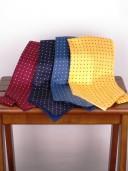 John Comfort Silk Polka Dot Cravats