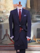 Bladen Navy Irish Linen Suit