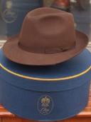 Olney Brown Fur Felt Trilby Hat
