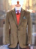 Bladen Litcham Drab Corduroy Jacket