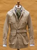 Private White V.C. Belted Safari Jacket Tan