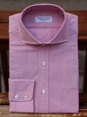 Rayner & Sturges Oxford Cloth Wine Shirt