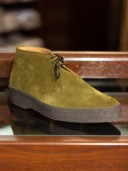 Sanders High-Top Playboy Shoes Moss Green