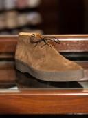 Sanders High-Top Playboy Shoes Snuff