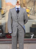 Bladen Peak Lapel 3-piece PoW suit