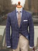 Bladen Gunton Blue Tweed Jacket