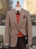 Bladen Harris Tweed Glen Check Jacket