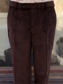 Bladen Mautby Dark Brown Corduroy Trousers