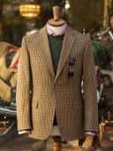 Bladen Gunton Gunclub Tweed Jacket Beige