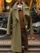 Chrysalis Churchill Greatcoat Military Green