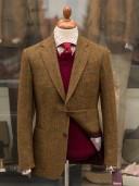 Bladen Harris Tweed Mustard Multicheck Gunton Jacket