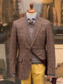 Bladen Shelton Gun-club Check Tweed Jacket