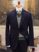 Bladen Gunton Navy Needlecord Jacket