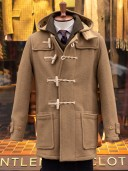 Gloverall Union Jack Mid Monty Duffle Coat Camel