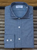 Rayner & Sturges Blue Chambray Shirt