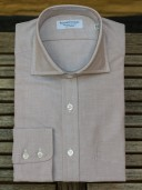 Rayner & Sturges Oxford Cloth Khaki Shirt