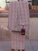 Bladen Mautby Checked Cotton/Wool Trousers